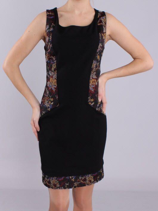 Вставки по бокам в платье