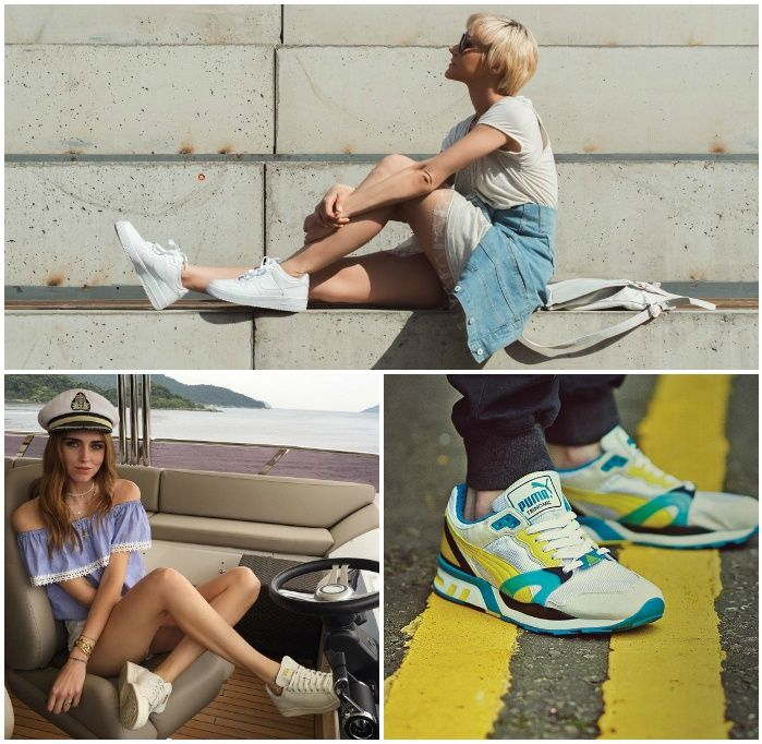 Летние модели кроссовок