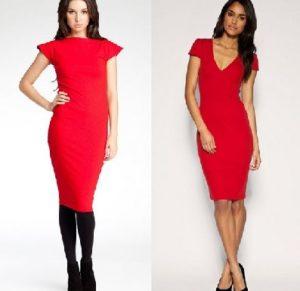 цвета колготок для красного платья