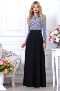 блузка с длинной юбкой