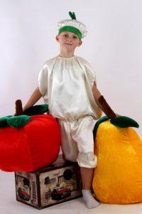 костюм чеснока для мальчика своими руками