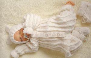 костюм для новорожденного своими руками
