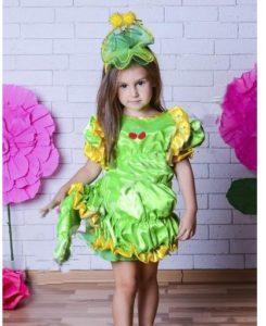 костюм гусеницы для девочки