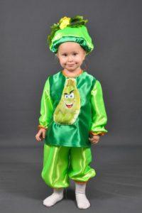 костюм кабачка для ребенка