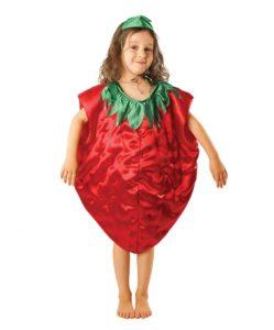 костюм клубники для девочки