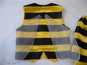части костюма пчелы с крыльями