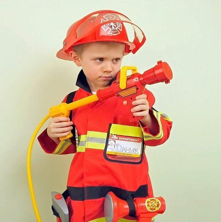 Костюм пожарного для мальчика