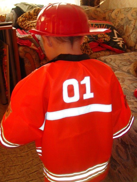Куртка пожарного с 01