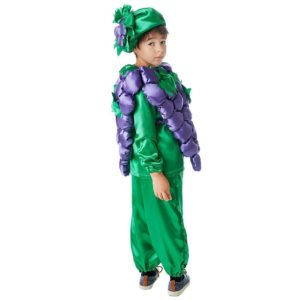 костюм винограда для мальчика