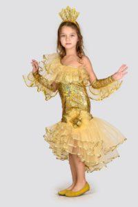 костюм золотой рыбки своими руками
