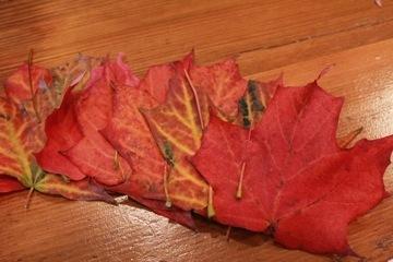 Костюм листика венок
