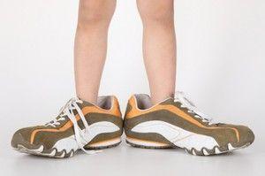 Кроссовки уменьшить размер