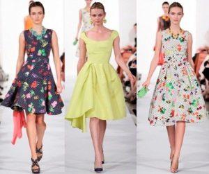 образы с летним платьем