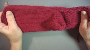 Носки на вязаной машине без шва