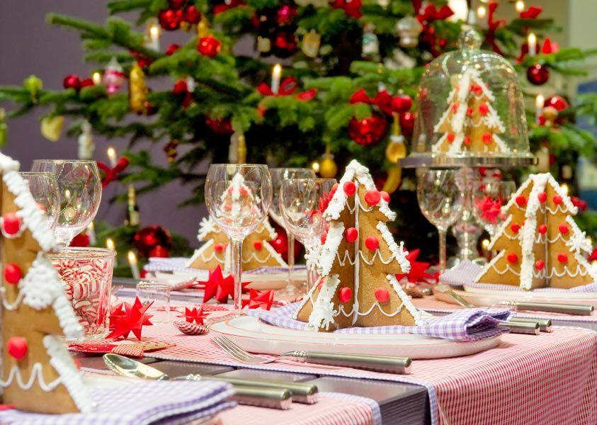 Украшения новогоднего стола