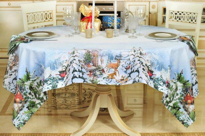 Формы новогоднего стола