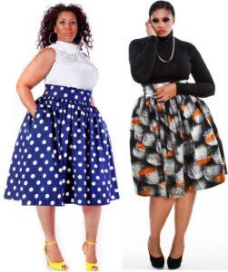 Особенности подбора юбки для широких бёдер