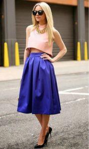 Особенности юбки-татьянки
