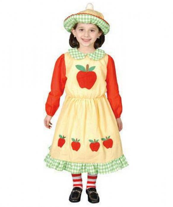 Платье Яблочко для девочки