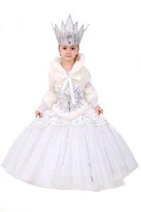 платье снежной королевы своими руками