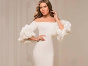 свадебные платья из гипюра