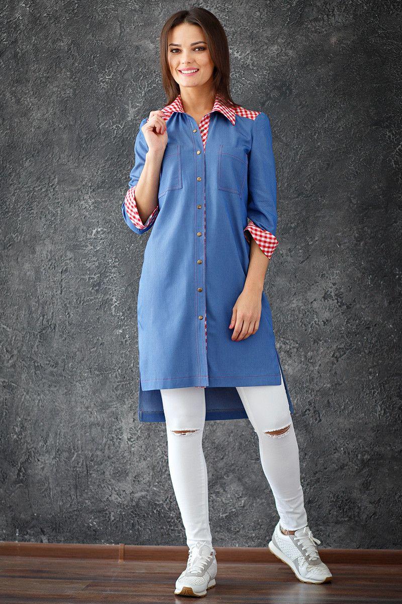 Джинсовое платье бельевой стилль