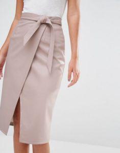 Пошив простой юбки с запахом