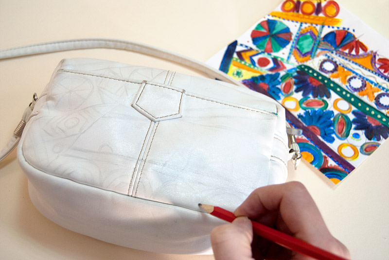 Роспись сумки рисунок