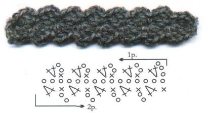 Ручки для сумки схема 3
