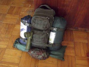 тревожный рюкзак