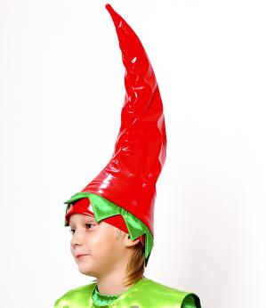 Шапка к костюму перца 2