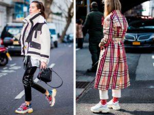 С чем носить кроссовки баленсиага?