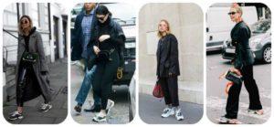 кроссовки баленсиага со штанами