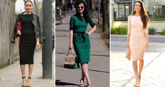 Платья в деловом стиле