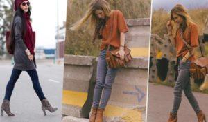 джинсы с казаками