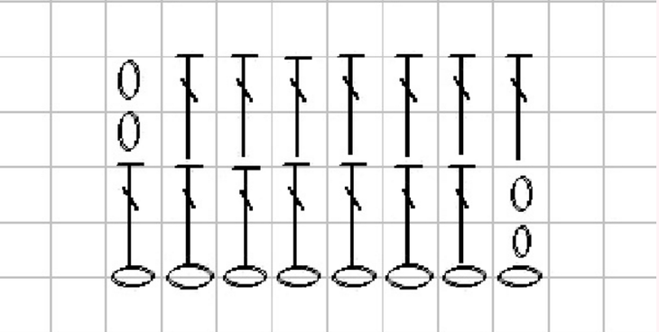 Сумка крючком схема ручек 1