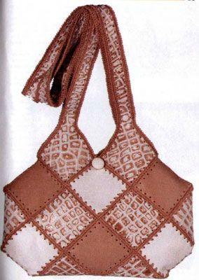 Комбинированные сумки из фетра