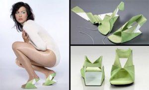 Туфли-оригами
