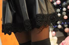 Удлиняем юбку с помощью кружева