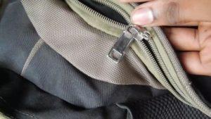 Возможные причины, почему расходится молния на сумке