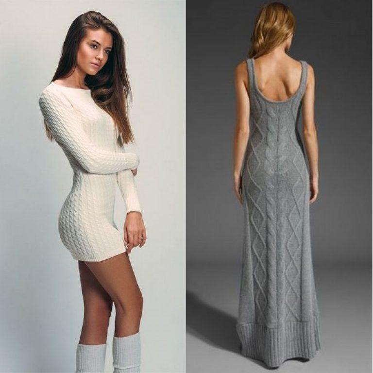 Вязаные платья фото 4 1