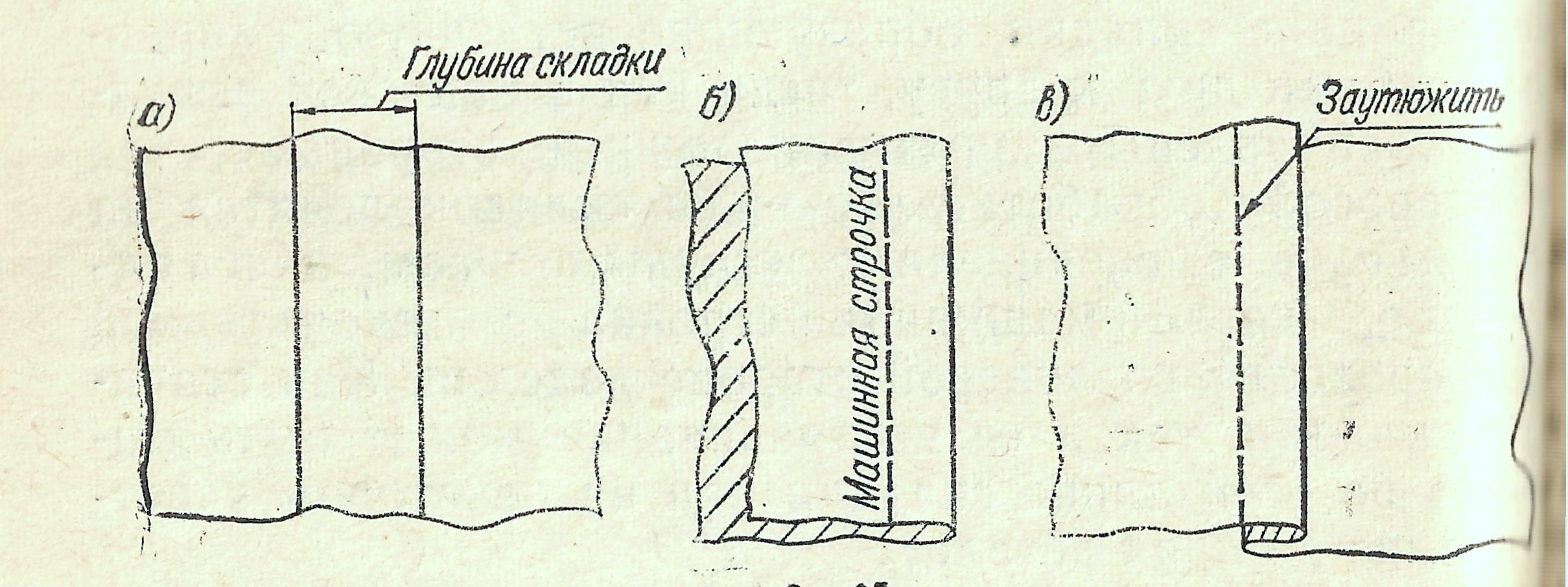 Юбка со складками 17