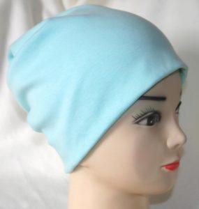 Женская шапка-носок из трикотажа
