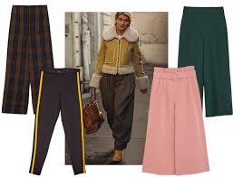 брюки зимой