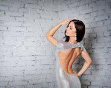 платье с открытой спиной лифчик