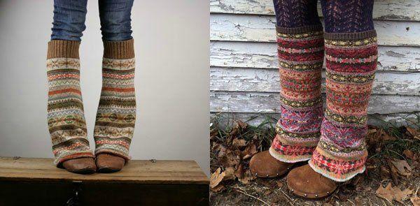 тёплые носки или гетры