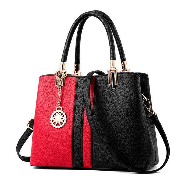 Красно-черная сумка