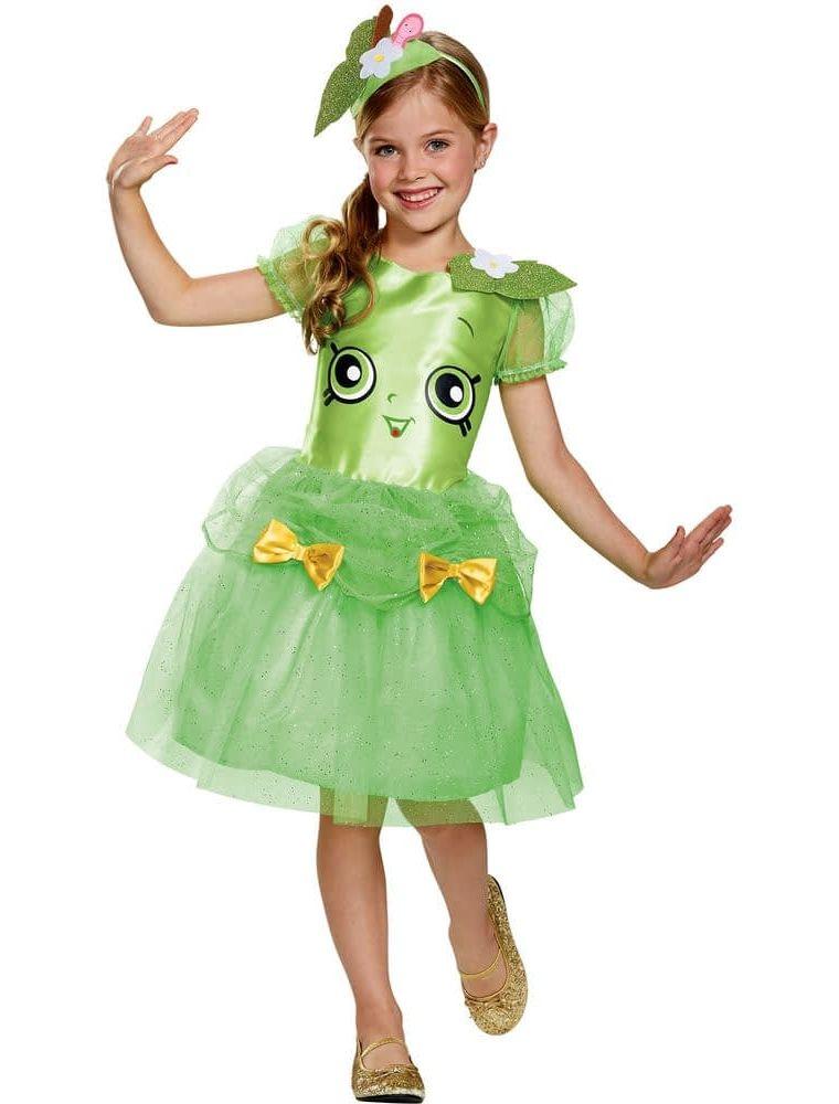 Светло-зеленый костюм Яблочко для девочки