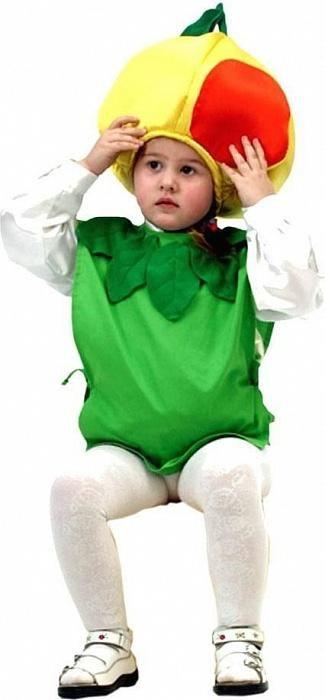 Яблочко костюм для малыша
