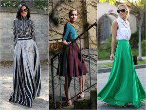длинные юбки своими руками